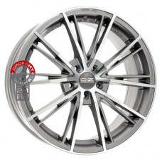 Автодиск OZ Envy 7.5x17/5x100 d68 ET35 Matt Silver Tech Diamond Cut