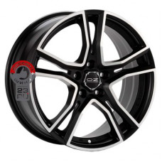 Автодиск OZ Adrenalina 8x17/5x114.3 d75 ET45 Matt Black + Diamond Cut