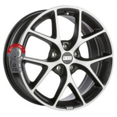 Автодиск BBS SR 8x18/5x100 d70 ET48 Vulcano grey diamond cut